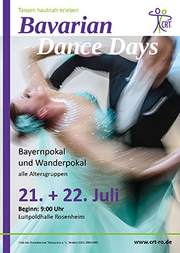 Plakat Bavarian Dance Days 2018